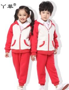 9007红色加绒大卫衣